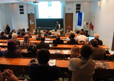 Lecture at University of Ljubljana