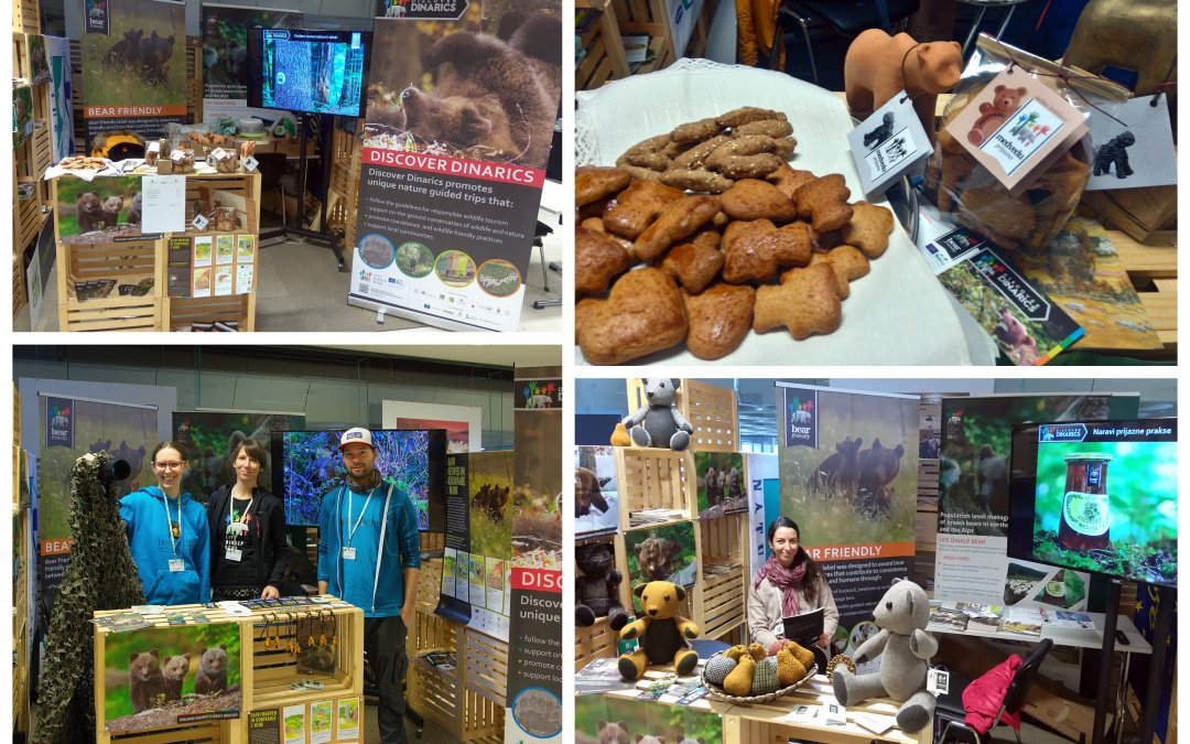 Bear friendly ambassadors at 29th Natour Alpe Adria fair