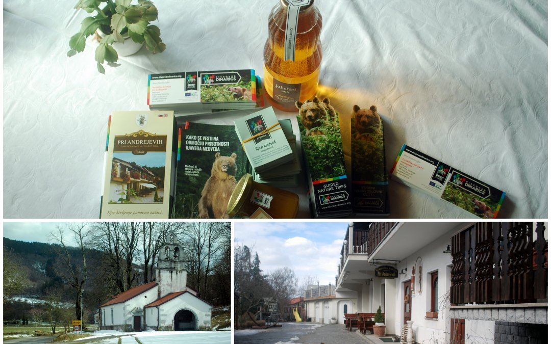 "Bear friendly products from the tourist farm ""Pri Andrejevih"""